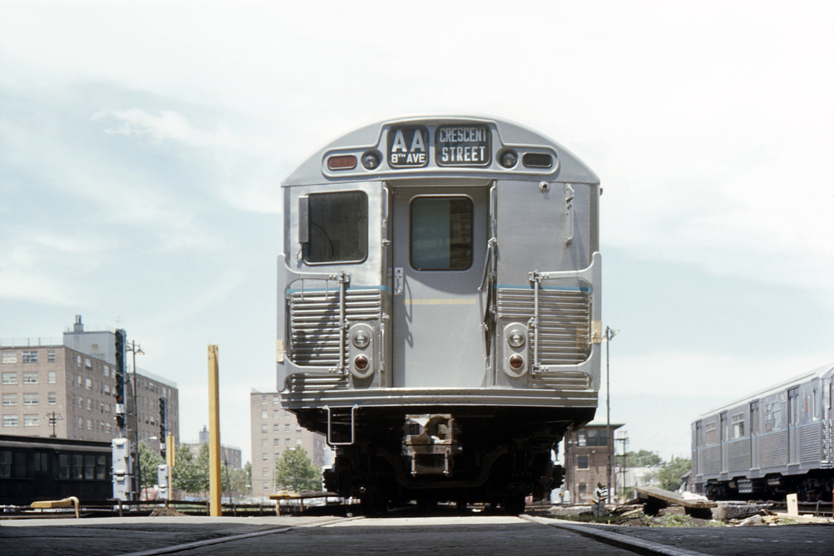 (335k, 1044x711)<br><b>Country:</b> United States<br><b>City:</b> New York<br><b>System:</b> New York City Transit<br><b>Location:</b> Coney Island Yard<br><b>Car:</b> R-38 (St. Louis, 1966-1967)   <br><b>Collection of:</b> David Pirmann<br><b>Date:</b> 6/25/1966<br><b>Viewed (this week/total):</b> 0 / 5882