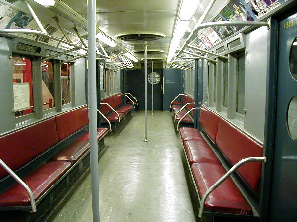 (94k, 600x450)<br><b>Country:</b> United States<br><b>City:</b> New York<br><b>System:</b> New York City Transit<br><b>Location:</b> New York Transit Museum<br><b>Car:</b> R-15 (American Car & Foundry, 1950) 6239 <br><b>Photo by:</b> Trevor Logan<br><b>Date:</b> 11/29/2001<br><b>Viewed (this week/total):</b> 0 / 4522