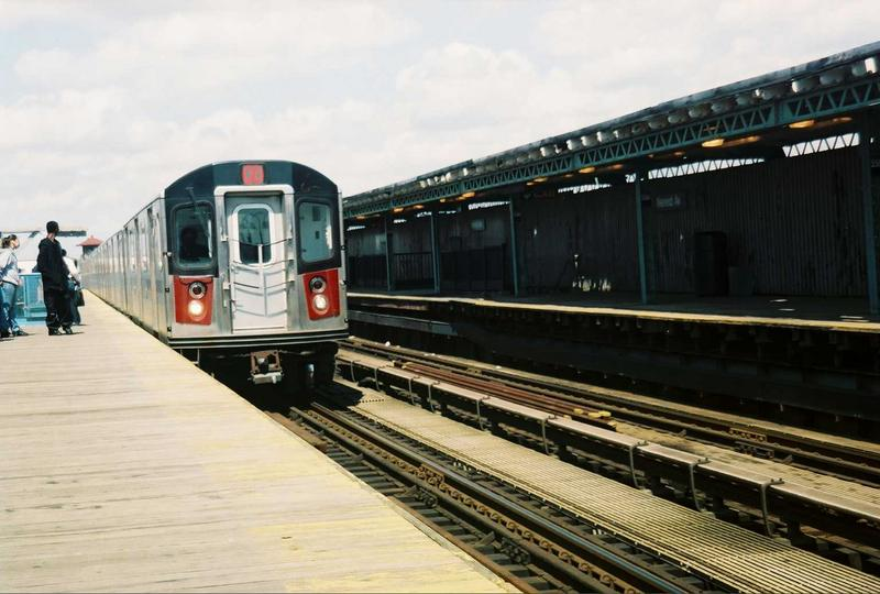 (66k, 800x540)<br><b>Country:</b> United States<br><b>City:</b> New York<br><b>System:</b> New York City Transit<br><b>Line:</b> IRT White Plains Road Line<br><b>Location:</b> 238th Street (Nereid Avenue) <br><b>Route:</b> 2<br><b>Car:</b> R-142 (Primary Order, Bombardier, 1999-2002)  6301 <br><b>Photo by:</b> Gary Chatterton<br><b>Date:</b> 5/1/2005<br><b>Viewed (this week/total):</b> 2 / 4947