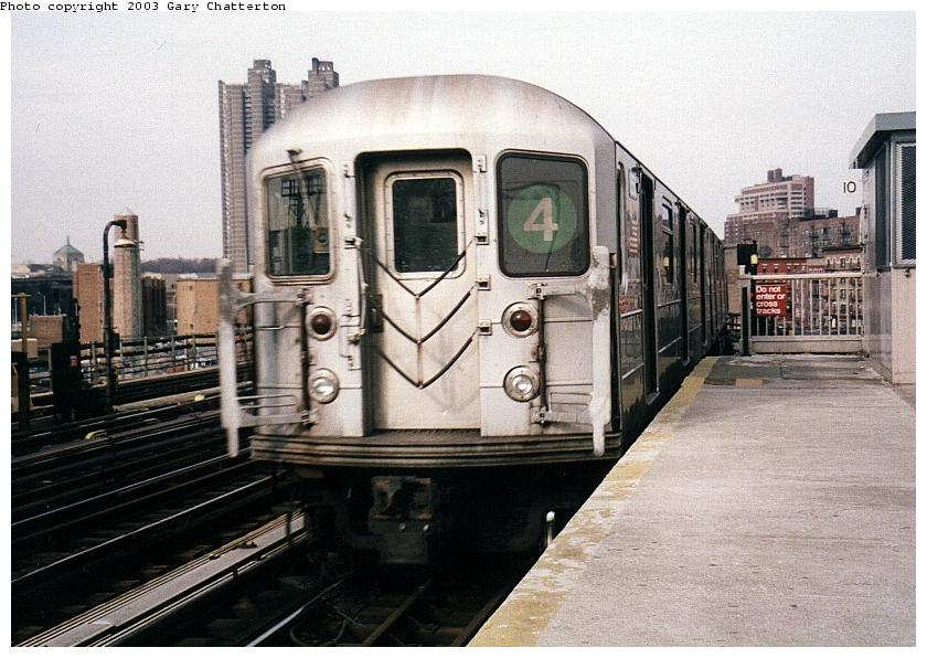 (91k, 840x596)<br><b>Country:</b> United States<br><b>City:</b> New York<br><b>System:</b> New York City Transit<br><b>Line:</b> IRT Woodlawn Line<br><b>Location:</b> Bedford Park Boulevard <br><b>Route:</b> 4<br><b>Car:</b> R-62 (Kawasaki, 1983-1985)  1480 <br><b>Photo by:</b> Gary Chatterton<br><b>Date:</b> 4/2/2003<br><b>Viewed (this week/total):</b> 1 / 4502