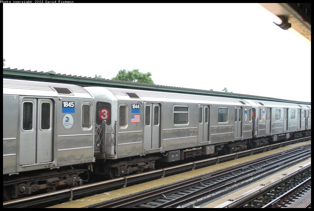 (160k, 1044x701)<br><b>Country:</b> United States<br><b>City:</b> New York<br><b>System:</b> New York City Transit<br><b>Line:</b> IRT Brooklyn Line<br><b>Location:</b> Junius Street <br><b>Route:</b> 3<br><b>Car:</b> R-62A (Bombardier, 1984-1987)  1844 <br><b>Photo by:</b> David Pirmann<br><b>Date:</b> 6/7/2003<br><b>Viewed (this week/total):</b> 0 / 3546