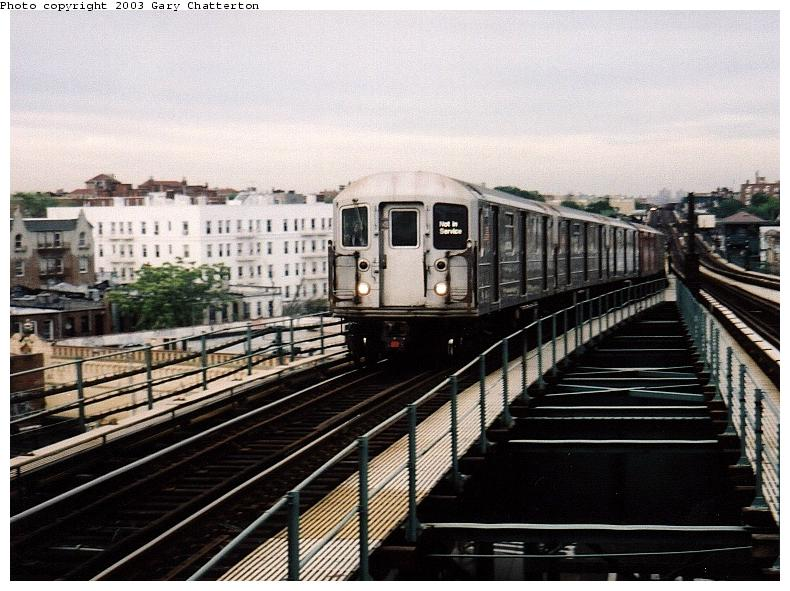 (85k, 790x591)<br><b>Country:</b> United States<br><b>City:</b> New York<br><b>System:</b> New York City Transit<br><b>Line:</b> IRT Flushing Line<br><b>Location:</b> 61st Street/Woodside <br><b>Car:</b> R-62A (Bombardier, 1984-1987)  2038 <br><b>Photo by:</b> Gary Chatterton<br><b>Date:</b> 6/18/2003<br><b>Viewed (this week/total):</b> 0 / 3253