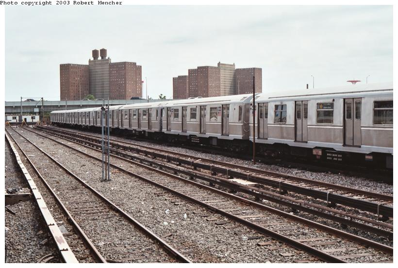 (117k, 820x553)<br><b>Country:</b> United States<br><b>City:</b> New York<br><b>System:</b> New York City Transit<br><b>Location:</b> Coney Island Yard<br><b>Car:</b> R-40M (St. Louis, 1969)  4542 <br><b>Photo by:</b> Robert Mencher<br><b>Date:</b> 6/2003<br><b>Viewed (this week/total):</b> 1 / 2943
