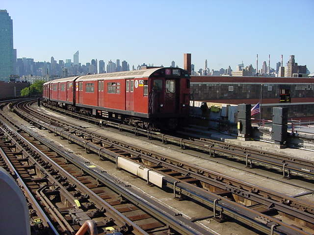 (61k, 640x480)<br><b>Country:</b> United States<br><b>City:</b> New York<br><b>System:</b> New York City Transit<br><b>Line:</b> IRT Flushing Line<br><b>Location:</b> 33rd Street/Rawson Street <br><b>Route:</b> 7<br><b>Car:</b> R-36 World's Fair (St. Louis, 1963-64) 9742 <br><b>Photo by:</b> Salaam Allah<br><b>Date:</b> 9/17/2002<br><b>Viewed (this week/total):</b> 1 / 2441