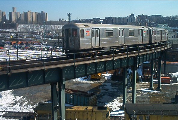 (69k, 592x400)<br><b>Country:</b> United States<br><b>City:</b> New York<br><b>System:</b> New York City Transit<br><b>Location:</b> 207th Street Yard<br><b>Car:</b> R-62A (Bombardier, 1984-1987)  1750 <br><b>Photo by:</b> Dante D. Angerville<br><b>Date:</b> 3/8/2003<br><b>Viewed (this week/total):</b> 3 / 5266