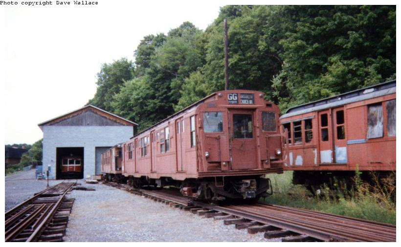 (69k, 820x505)<br><b>Country:</b> United States<br><b>City:</b> Kingston, NY<br><b>System:</b> Trolley Museum of New York <br><b>Car:</b> R-4 (American Car & Foundry, 1932-1933) 825 <br><b>Photo by:</b> David Wallace<br><b>Date:</b> 2000<br><b>Viewed (this week/total):</b> 0 / 5671