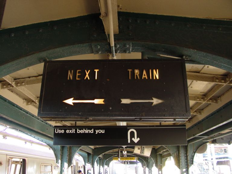 (62k, 768x576)<br><b>Country:</b> United States<br><b>City:</b> New York<br><b>System:</b> New York City Transit<br><b>Location:</b> Coney Island/Stillwell Avenue<br><b>Photo by:</b> Richard Panse<br><b>Date:</b> 2/2004<br><b>Notes:</b> Views of Old Stillwell before reconstruction<br><b>Viewed (this week/total):</b> 0 / 2735