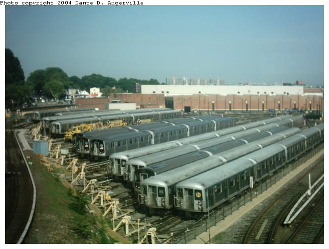 (51k, 660x500)<br><b>Country:</b> United States<br><b>City:</b> New York<br><b>System:</b> New York City Transit<br><b>Location:</b> East New York Yard/Shops<br><b>Photo by:</b> Dante D. Angerville<br><b>Date:</b> 7/24/2003<br><b>Viewed (this week/total):</b> 1 / 4545
