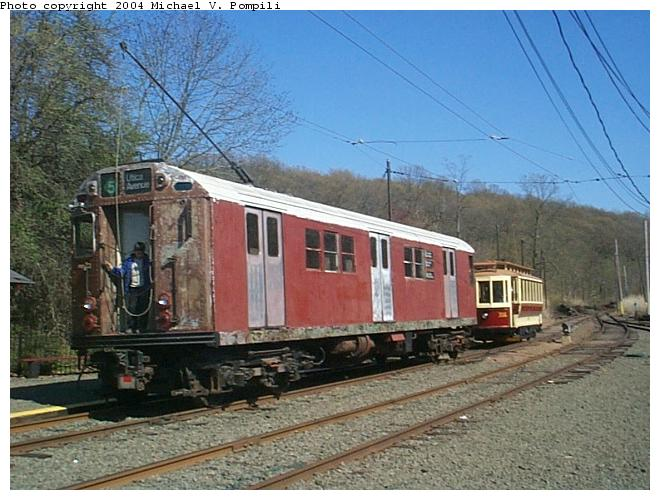 (88k, 660x500)<br><b>Country:</b> United States<br><b>City:</b> East Haven/Branford, Ct.<br><b>System:</b> Shore Line Trolley Museum <br><b>Car:</b> R-17 (St. Louis, 1955-56) 6688 <br><b>Photo by:</b> Michael Pompili<br><b>Date:</b> 4/28/2001<br><b>Viewed (this week/total):</b> 1 / 7243