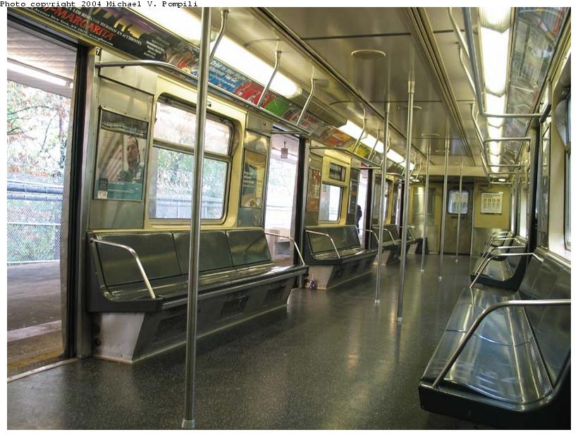(106k, 820x620)<br><b>Country:</b> United States<br><b>City:</b> New York<br><b>System:</b> New York City Transit<br><b>Line:</b> BMT Myrtle Avenue Line<br><b>Location:</b> Metropolitan Avenue <br><b>Route:</b> M<br><b>Car:</b> R-42 (St. Louis, 1969-1970)  4633 <br><b>Photo by:</b> Michael Pompili<br><b>Date:</b> 11/5/2003<br><b>Viewed (this week/total):</b> 0 / 4646