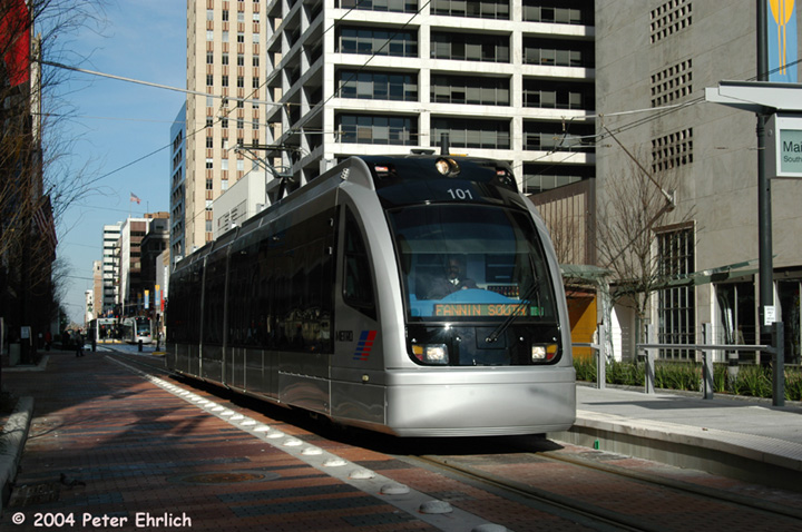 (161k, 720x478)<br><b>Country:</b> United States<br><b>City:</b> Houston, TX<br><b>System:</b> Houston METRORail<br><b>Location:</b> Main Street Square <br><b>Car:</b> Siemens Avanto 101 <br><b>Photo by:</b> Peter Ehrlich<br><b>Date:</b> 2/6/2004<br><b>Viewed (this week/total):</b> 9 / 3394