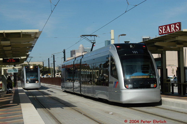 (123k, 720x478)<br><b>Country:</b> United States<br><b>City:</b> Houston, TX<br><b>System:</b> Houston METRORail<br><b>Location:</b> Wheeler <br><b>Car:</b> Siemens Avanto 105/101 <br><b>Photo by:</b> Peter Ehrlich<br><b>Date:</b> 2/6/2004<br><b>Viewed (this week/total):</b> 3 / 3074