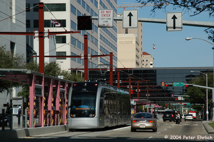 (167k, 720x478)<br><b>Country:</b> United States<br><b>City:</b> Houston, TX<br><b>System:</b> Houston METRORail<br><b>Location:</b> Dryden-TMC <br><b>Car:</b> Siemens Avanto 112 <br><b>Photo by:</b> Peter Ehrlich<br><b>Date:</b> 2/6/2004<br><b>Viewed (this week/total):</b> 1 / 2954