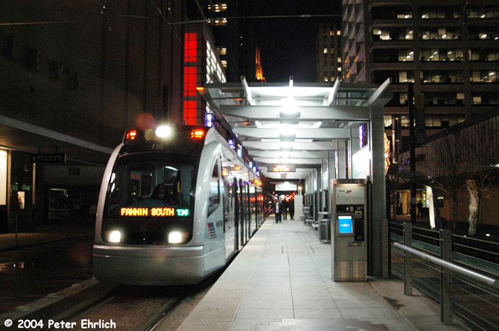 (145k, 720x478)<br><b>Country:</b> United States<br><b>City:</b> Houston, TX<br><b>System:</b> Houston METRORail<br><b>Location:</b> Main Street Square <br><b>Car:</b> Siemens Avanto 116 <br><b>Photo by:</b> Peter Ehrlich<br><b>Date:</b> 2/5/2004<br><b>Viewed (this week/total):</b> 3 / 4510