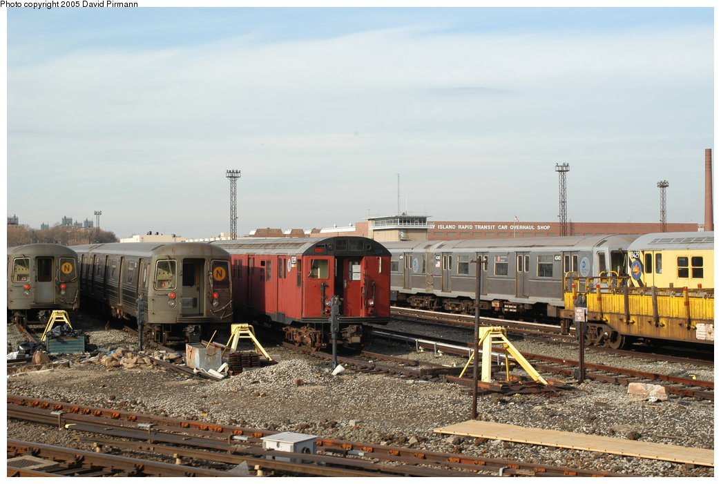 (203k, 1044x701)<br><b>Country:</b> United States<br><b>City:</b> New York<br><b>System:</b> New York City Transit<br><b>Location:</b> Coney Island Yard<br><b>Car:</b> R-30 (St. Louis, 1961) 8289 <br><b>Photo by:</b> David Pirmann<br><b>Date:</b> 2/29/2004<br><b>Viewed (this week/total):</b> 2 / 5417