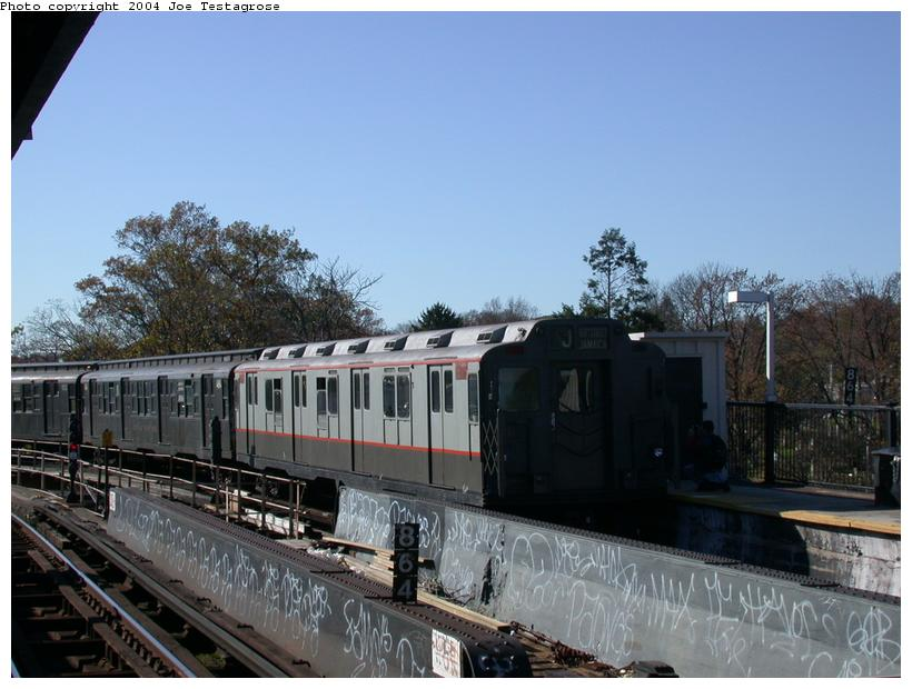 (108k, 820x620)<br><b>Country:</b> United States<br><b>City:</b> New York<br><b>System:</b> New York City Transit<br><b>Line:</b> BMT Nassau Street/Jamaica Line<br><b>Location:</b> Cypress Hills <br><b>Route:</b> Fan Trip<br><b>Car:</b> R-7A (Pullman, 1938)  1575 <br><b>Photo by:</b> Joe Testagrose<br><b>Date:</b> 11/9/2003<br><b>Viewed (this week/total):</b> 0 / 1942