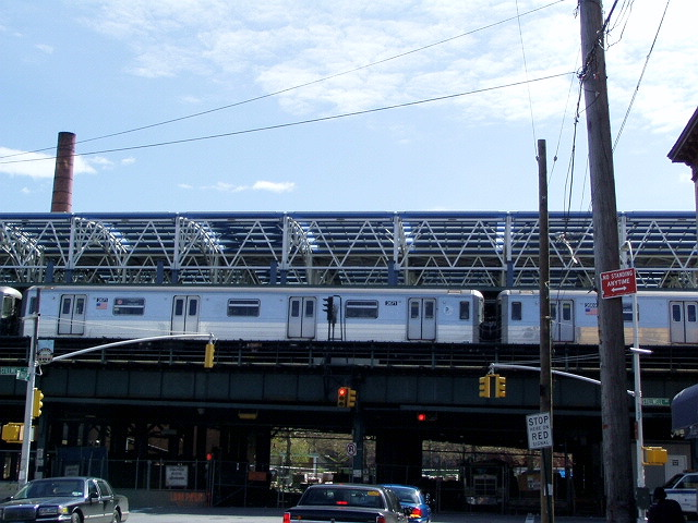 (127k, 640x480)<br><b>Country:</b> United States<br><b>City:</b> New York<br><b>System:</b> New York City Transit<br><b>Location:</b> Coney Island/Stillwell Avenue<br><b>Photo by:</b> Irwin Markowitz<br><b>Date:</b> 4/25/2004<br><b>Viewed (this week/total):</b> 0 / 3242