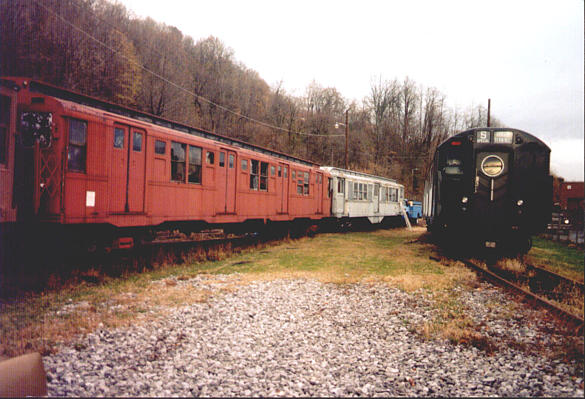(58k, 585x399)<br><b>Country:</b> United States<br><b>City:</b> Kingston, NY<br><b>System:</b> Trolley Museum of New York <br><b>Car:</b> R-16 (American Car & Foundry, 1955) 6398 <br><b>Photo by:</b> Harold Greenblatt<br><b>Viewed (this week/total):</b> 0 / 7522