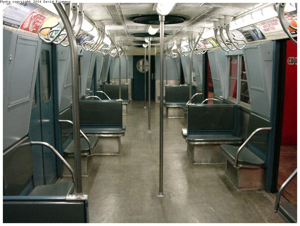 (132k, 1044x788)<br><b>Country:</b> United States<br><b>City:</b> New York<br><b>System:</b> New York City Transit<br><b>Location:</b> New York Transit Museum<br><b>Car:</b> R-16 (American Car & Foundry, 1955) 6387 <br><b>Photo by:</b> David Pirmann<br><b>Date:</b> 3/12/2000<br><b>Viewed (this week/total):</b> 6 / 15687