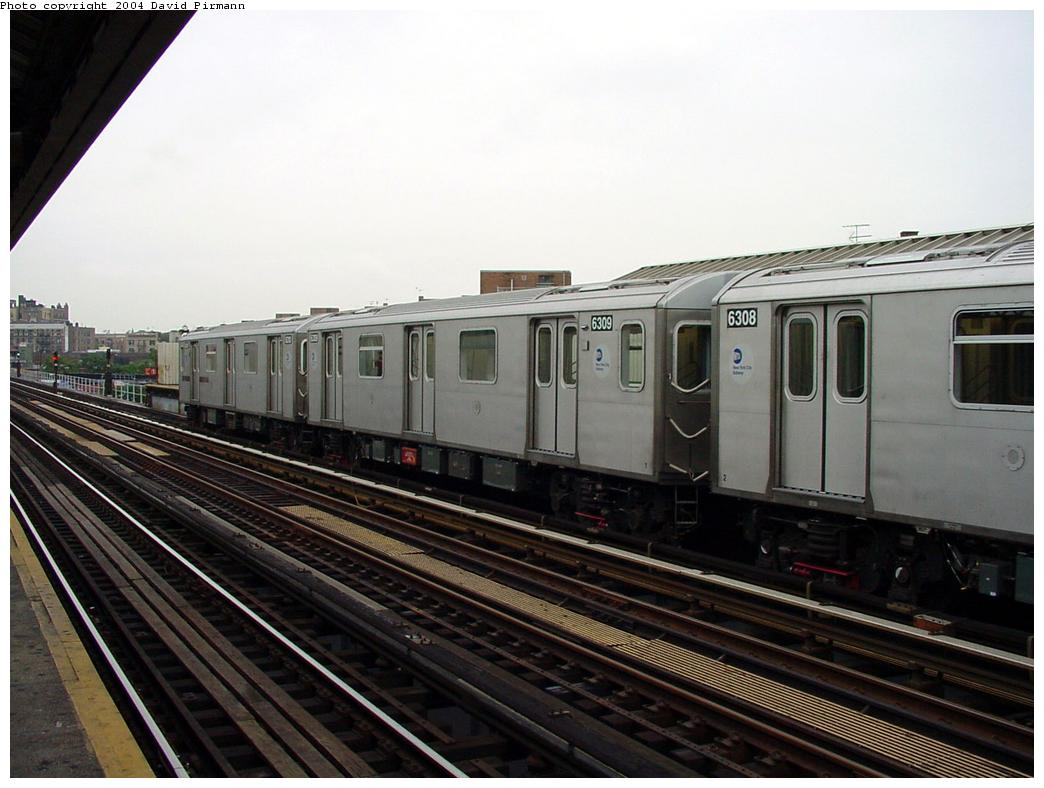 (113k, 1044x788)<br><b>Country:</b> United States<br><b>City:</b> New York<br><b>System:</b> New York City Transit<br><b>Line:</b> IRT White Plains Road Line<br><b>Location:</b> Intervale Avenue <br><b>Route:</b> 2<br><b>Car:</b> R-142 (Primary Order, Bombardier, 1999-2002)  6309 <br><b>Photo by:</b> David Pirmann<br><b>Date:</b> 7/29/2000<br><b>Viewed (this week/total):</b> 0 / 5079