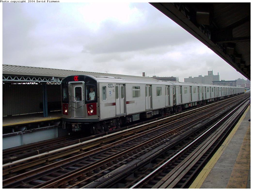 (120k, 1044x788)<br><b>Country:</b> United States<br><b>City:</b> New York<br><b>System:</b> New York City Transit<br><b>Line:</b> IRT White Plains Road Line<br><b>Location:</b> Intervale Avenue <br><b>Route:</b> 2<br><b>Car:</b> R-142 (Primary Order, Bombardier, 1999-2002)  6310 <br><b>Photo by:</b> David Pirmann<br><b>Date:</b> 7/29/2000<br><b>Viewed (this week/total):</b> 0 / 3879