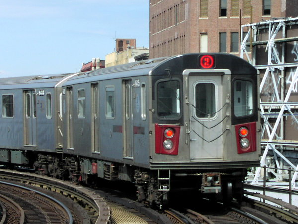 (78k, 600x450)<br><b>Country:</b> United States<br><b>City:</b> New York<br><b>System:</b> New York City Transit<br><b>Line:</b> IRT White Plains Road Line<br><b>Location:</b> Simpson Street <br><b>Route:</b> 2<br><b>Car:</b> R-142 (Primary Order, Bombardier, 1999-2002)  6415 <br><b>Photo by:</b> Trevor Logan<br><b>Date:</b> 7/2001<br><b>Viewed (this week/total):</b> 1 / 4735