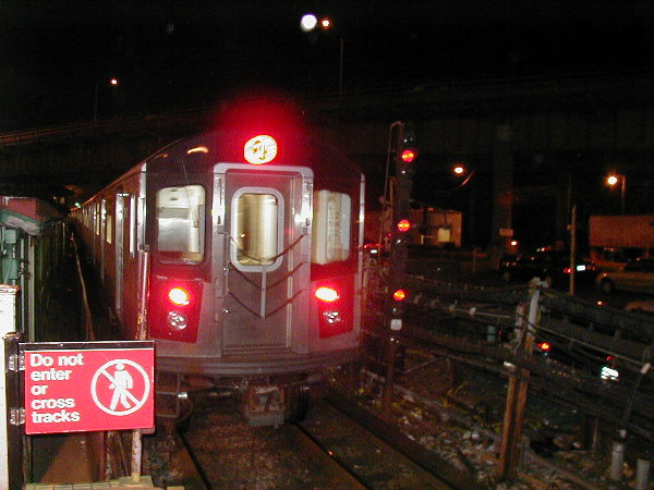 (73k, 600x450)<br><b>Country:</b> United States<br><b>City:</b> New York<br><b>System:</b> New York City Transit<br><b>Line:</b> IRT White Plains Road Line<br><b>Location:</b> East 180th Street <br><b>Route:</b> 2<br><b>Car:</b> R-142 (Primary Order, Bombardier, 1999-2002)  6431 <br><b>Photo by:</b> Trevor Logan<br><b>Date:</b> 6/10/2001<br><b>Viewed (this week/total):</b> 1 / 6372