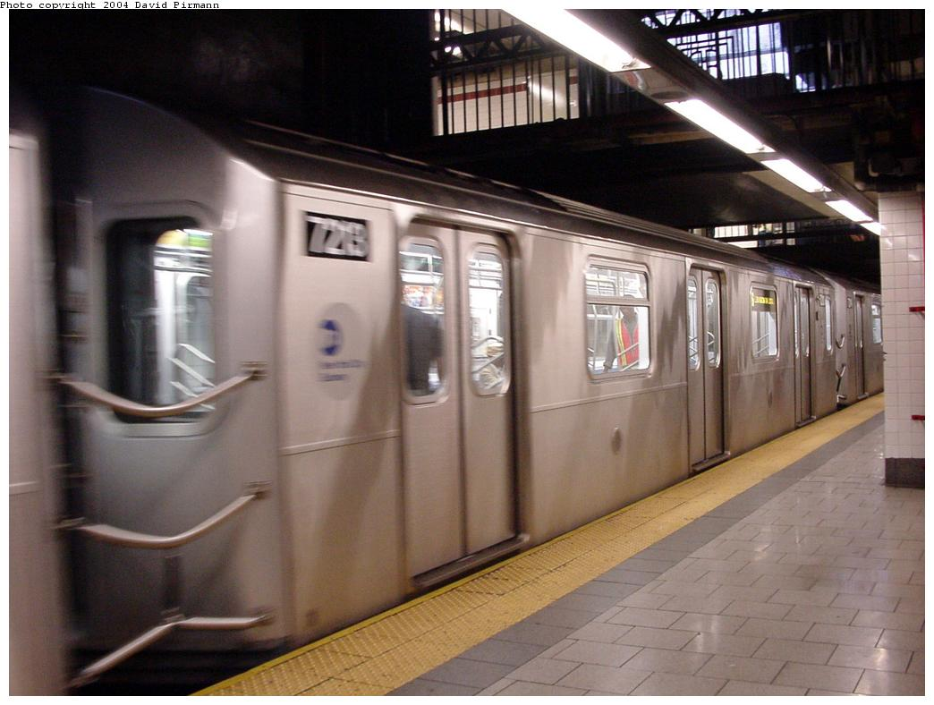 (109k, 1044x788)<br><b>Country:</b> United States<br><b>City:</b> New York<br><b>System:</b> New York City Transit<br><b>Line:</b> IRT East Side Line<br><b>Location:</b> Brooklyn Bridge/City Hall <br><b>Route:</b> 6<br><b>Car:</b> R-142A (Primary Order, Kawasaki, 1999-2002)  7213 <br><b>Photo by:</b> David Pirmann<br><b>Date:</b> 7/29/2000<br><b>Viewed (this week/total):</b> 3 / 4099
