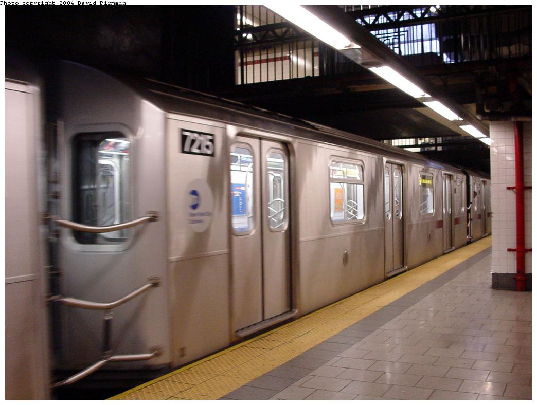 (107k, 1044x788)<br><b>Country:</b> United States<br><b>City:</b> New York<br><b>System:</b> New York City Transit<br><b>Line:</b> IRT East Side Line<br><b>Location:</b> Brooklyn Bridge/City Hall <br><b>Route:</b> 6<br><b>Car:</b> R-142A (Primary Order, Kawasaki, 1999-2002)  7215 <br><b>Photo by:</b> David Pirmann<br><b>Date:</b> 7/29/2000<br><b>Viewed (this week/total):</b> 0 / 3846