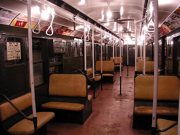 (76k, 600x450)<br><b>Country:</b> United States<br><b>City:</b> New York<br><b>System:</b> New York City Transit<br><b>Location:</b> New York Transit Museum<br><b>Car:</b> R-9 (Pressed Steel, 1940)  1802 <br><b>Photo by:</b> Trevor Logan<br><b>Date:</b> 5/16/2004<br><b>Viewed (this week/total):</b> 2 / 10450
