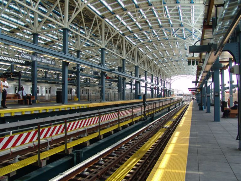(125k, 768x576)<br><b>Country:</b> United States<br><b>City:</b> New York<br><b>System:</b> New York City Transit<br><b>Location:</b> Coney Island/Stillwell Avenue<br><b>Photo by:</b> Richard Panse<br><b>Date:</b> 5/23/2004<br><b>Viewed (this week/total):</b> 0 / 1863