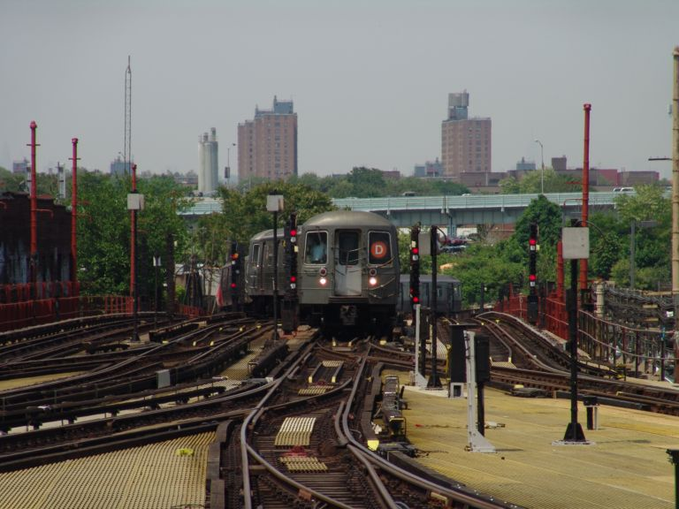 (75k, 768x576)<br><b>Country:</b> United States<br><b>City:</b> New York<br><b>System:</b> New York City Transit<br><b>Location:</b> Coney Island/Stillwell Avenue<br><b>Route:</b> D<br><b>Car:</b> R-68/R-68A Series (Number Unknown)  <br><b>Photo by:</b> Richard Panse<br><b>Date:</b> 5/23/2004<br><b>Viewed (this week/total):</b> 7 / 5651
