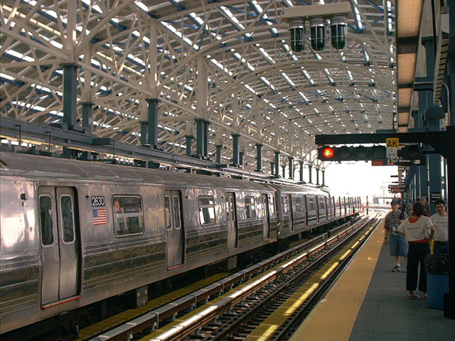 (133k, 640x480)<br><b>Country:</b> United States<br><b>City:</b> New York<br><b>System:</b> New York City Transit<br><b>Location:</b> Coney Island/Stillwell Avenue<br><b>Route:</b> D<br><b>Car:</b> R-68 (Westinghouse-Amrail, 1986-1988)  2630 <br><b>Photo by:</b> Tony Mirabella<br><b>Date:</b> 5/23/2004<br><b>Viewed (this week/total):</b> 2 / 3973