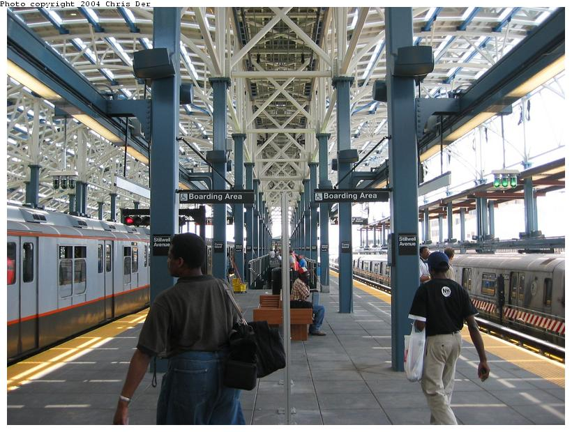 (105k, 820x620)<br><b>Country:</b> United States<br><b>City:</b> New York<br><b>System:</b> New York City Transit<br><b>Location:</b> Coney Island/Stillwell Avenue<br><b>Photo by:</b> Chris Der<br><b>Date:</b> 5/23/2004<br><b>Viewed (this week/total):</b> 0 / 1624