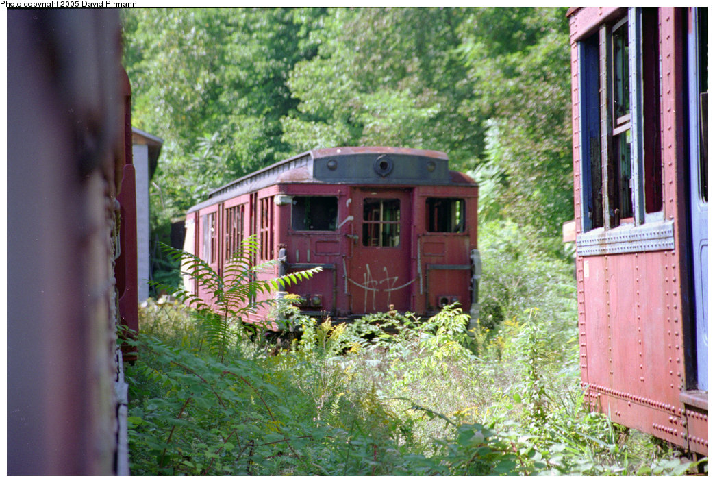 (270k, 1044x705)<br><b>Country:</b> United States<br><b>City:</b> Kingston, NY<br><b>System:</b> Trolley Museum of New York <br><b>Photo by:</b> David Pirmann<br><b>Date:</b> 8/1996<br><b>Notes:</b> Philadelphia Broad St. subway or Bridge Line car.<br><b>Viewed (this week/total):</b> 3 / 2728