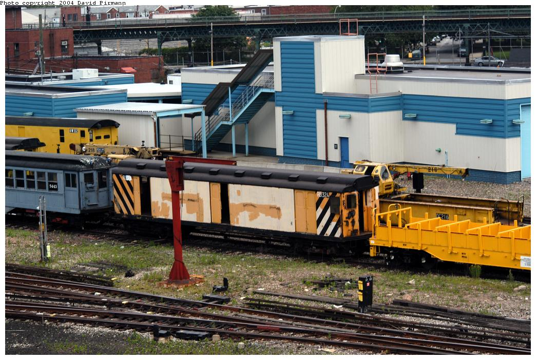 (205k, 1044x701)<br><b>Country:</b> United States<br><b>City:</b> New York<br><b>System:</b> New York City Transit<br><b>Location:</b> Coney Island Yard-Museum Yard<br><b>Car:</b> R-71 Rider Car (R-17/R-21/R-22 Rebuilds)  RD324 (ex-5812)<br><b>Photo by:</b> David Pirmann<br><b>Date:</b> 6/13/2004<br><b>Viewed (this week/total):</b> 3 / 5571