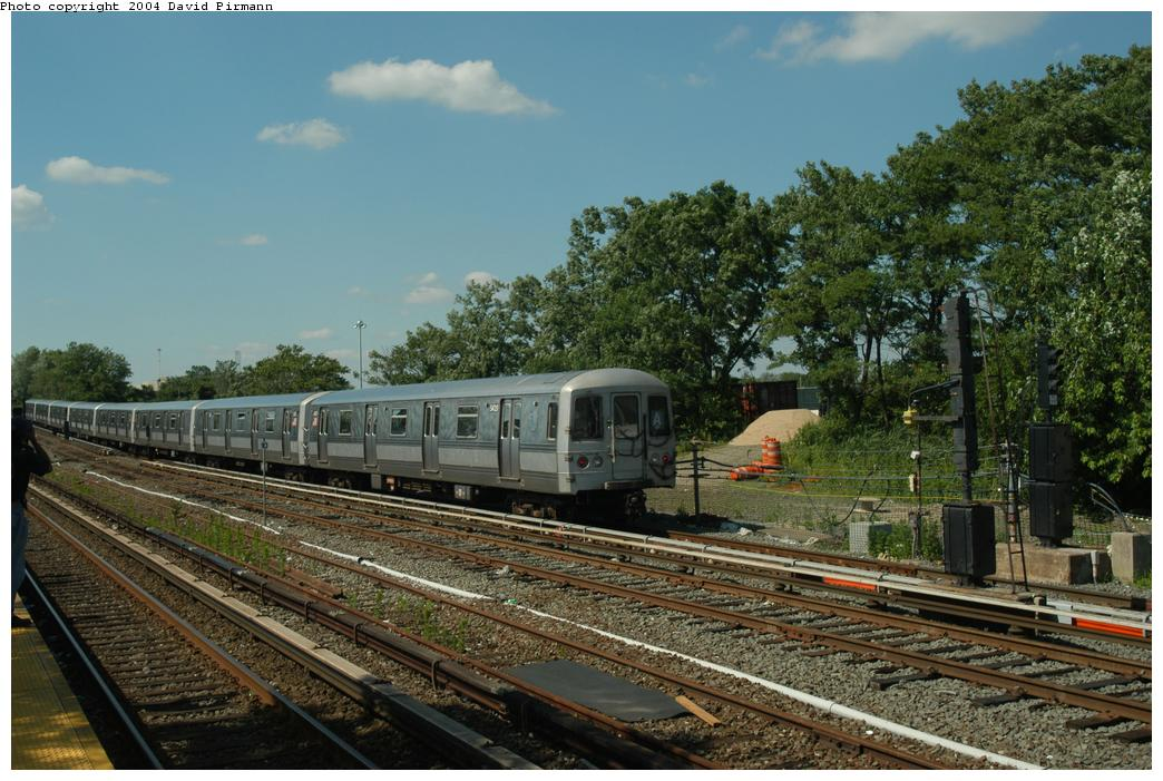 (179k, 1044x701)<br><b>Country:</b> United States<br><b>City:</b> New York<br><b>System:</b> New York City Transit<br><b>Line:</b> IND Rockaway<br><b>Location:</b> Howard Beach <br><b>Route:</b> A<br><b>Car:</b> R-44 (St. Louis, 1971-73) 5420 <br><b>Photo by:</b> David Pirmann<br><b>Date:</b> 6/19/2004<br><b>Viewed (this week/total):</b> 0 / 3565