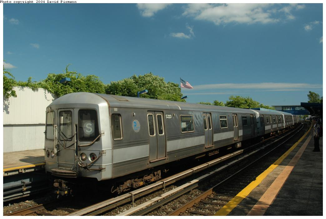 (145k, 1044x701)<br><b>Country:</b> United States<br><b>City:</b> New York<br><b>System:</b> New York City Transit<br><b>Line:</b> IND Rockaway<br><b>Location:</b> Broad Channel <br><b>Route:</b> S<br><b>Car:</b> R-44 (St. Louis, 1971-73) 5320 <br><b>Photo by:</b> David Pirmann<br><b>Date:</b> 6/19/2004<br><b>Viewed (this week/total):</b> 1 / 2443