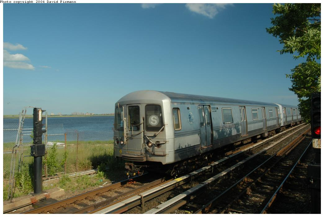 (141k, 1044x701)<br><b>Country:</b> United States<br><b>City:</b> New York<br><b>System:</b> New York City Transit<br><b>Line:</b> IND Rockaway<br><b>Location:</b> Broad Channel <br><b>Route:</b> S<br><b>Car:</b> R-44 (St. Louis, 1971-73) 5304 <br><b>Photo by:</b> David Pirmann<br><b>Date:</b> 6/19/2004<br><b>Viewed (this week/total):</b> 2 / 2323