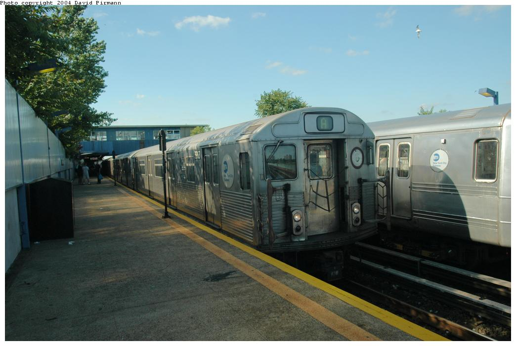 (138k, 1044x701)<br><b>Country:</b> United States<br><b>City:</b> New York<br><b>System:</b> New York City Transit<br><b>Line:</b> IND Rockaway<br><b>Location:</b> Broad Channel <br><b>Route:</b> A<br><b>Car:</b> R-38 (St. Louis, 1966-1967)  3968 <br><b>Photo by:</b> David Pirmann<br><b>Date:</b> 6/19/2004<br><b>Viewed (this week/total):</b> 0 / 2962
