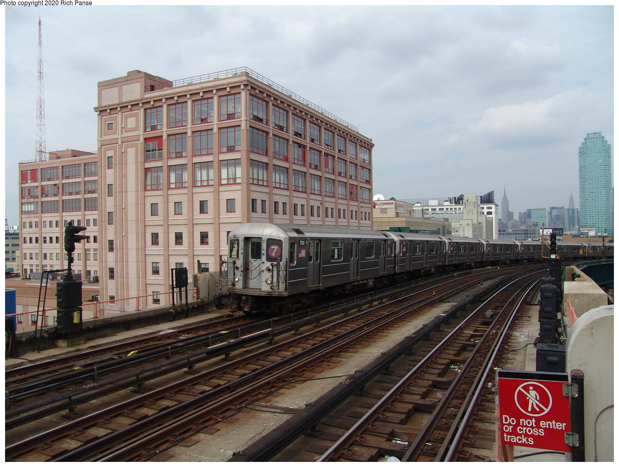 (103k, 820x620)<br><b>Country:</b> United States<br><b>City:</b> New York<br><b>System:</b> New York City Transit<br><b>Line:</b> IRT Flushing Line<br><b>Location:</b> 33rd Street/Rawson Street <br><b>Route:</b> 7<br><b>Car:</b> R-62A (Bombardier, 1984-1987)  1766 <br><b>Photo by:</b> Richard Panse<br><b>Date:</b> 6/19/2004<br><b>Viewed (this week/total):</b> 3 / 3155