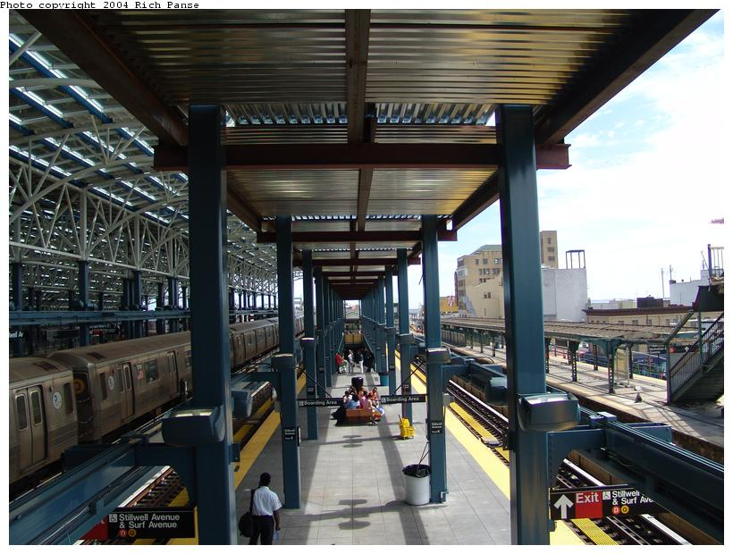 (117k, 820x620)<br><b>Country:</b> United States<br><b>City:</b> New York<br><b>System:</b> New York City Transit<br><b>Location:</b> Coney Island/Stillwell Avenue<br><b>Photo by:</b> Richard Panse<br><b>Date:</b> 6/13/2004<br><b>Viewed (this week/total):</b> 0 / 2161
