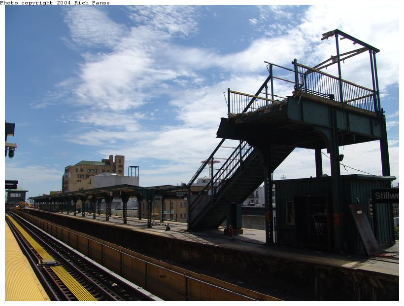 (89k, 820x620)<br><b>Country:</b> United States<br><b>City:</b> New York<br><b>System:</b> New York City Transit<br><b>Location:</b> Coney Island/Stillwell Avenue<br><b>Photo by:</b> Richard Panse<br><b>Date:</b> 6/13/2004<br><b>Viewed (this week/total):</b> 0 / 2029