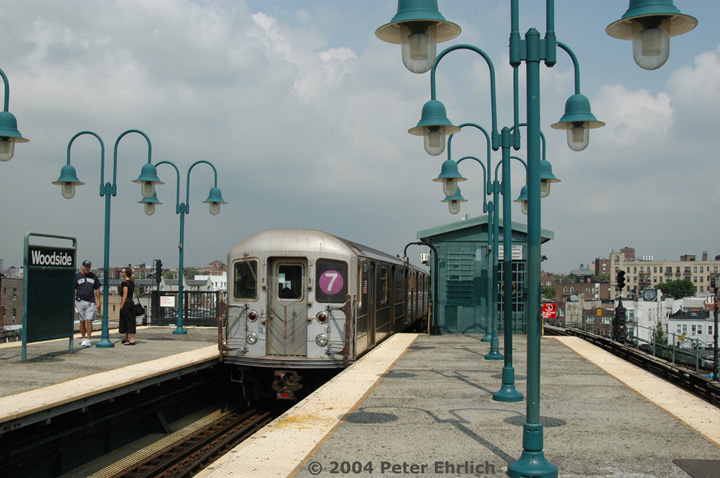 (135k, 720x478)<br><b>Country:</b> United States<br><b>City:</b> New York<br><b>System:</b> New York City Transit<br><b>Line:</b> IRT Flushing Line<br><b>Location:</b> 61st Street/Woodside <br><b>Route:</b> 7<br><b>Car:</b> R-62A (Bombardier, 1984-1987)  2102 <br><b>Photo by:</b> Peter Ehrlich<br><b>Date:</b> 7/19/2004<br><b>Viewed (this week/total):</b> 2 / 4971