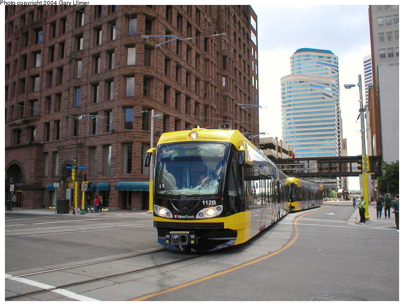 (108k, 820x620)<br><b>Country:</b> United States<br><b>City:</b> Minneapolis, MN<br><b>System:</b> MNDOT Light Rail Transit<br><b>Line:</b> Hiawatha Line<br><b>Location:</b> <b><u>Warehouse District/Hennepin Ave </b></u><br><b>Photo by:</b> Gary Ulmer<br><b>Date:</b> 6/24/2004<br><b>Viewed (this week/total):</b> 0 / 2621