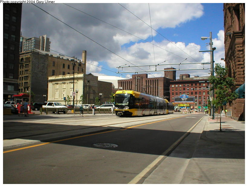 (97k, 820x620)<br><b>Country:</b> United States<br><b>City:</b> Minneapolis, MN<br><b>System:</b> MNDOT Light Rail Transit<br><b>Line:</b> Hiawatha Line<br><b>Location:</b> <b><u>Warehouse District/Hennepin Ave </b></u><br><b>Photo by:</b> Gary Ulmer<br><b>Date:</b> 6/24/2004<br><b>Viewed (this week/total):</b> 1 / 1881