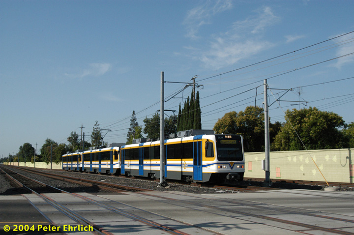 (132k, 720x478)<br><b>Country:</b> United States<br><b>City:</b> Sacramento, CA<br><b>System:</b> SACRT Light Rail<br><b>Location:</b> Fruitridge <br><b>Car:</b> Sacramento CAF LRV  209 <br><b>Photo by:</b> Peter Ehrlich<br><b>Date:</b> 6/28/2004<br><b>Viewed (this week/total):</b> 3 / 1247