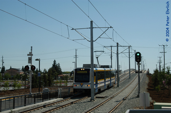 (132k, 720x478)<br><b>Country:</b> United States<br><b>City:</b> Sacramento, CA<br><b>System:</b> SACRT Light Rail<br><b>Location:</b> Sunrise <br><b>Car:</b> Sacramento CAF LRV  221 <br><b>Photo by:</b> Peter Ehrlich<br><b>Date:</b> 6/27/2004<br><b>Viewed (this week/total):</b> 0 / 966
