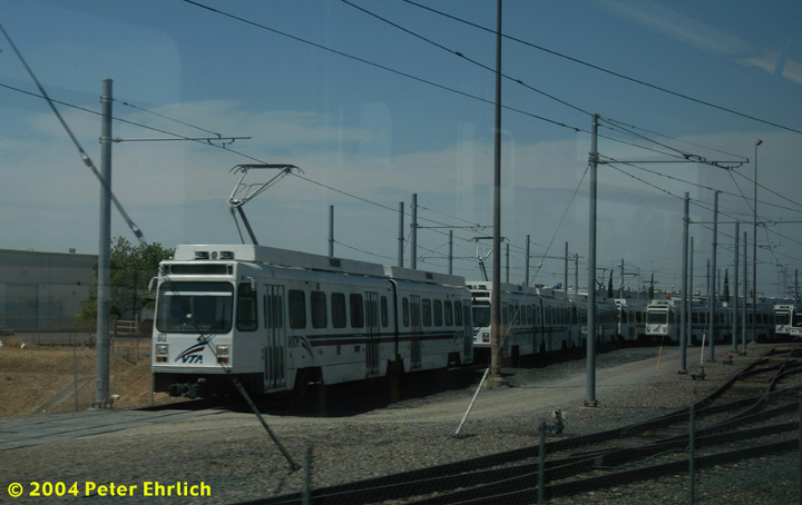 (104k, 720x454)<br><b>Country:</b> United States<br><b>City:</b> Sacramento, CA<br><b>System:</b> SACRT Light Rail<br><b>Location:</b> Swanston <br><b>Photo by:</b> Peter Ehrlich<br><b>Date:</b> 6/28/2004<br><b>Notes:</b> Ex-VTA 812<br><b>Viewed (this week/total):</b> 4 / 1717