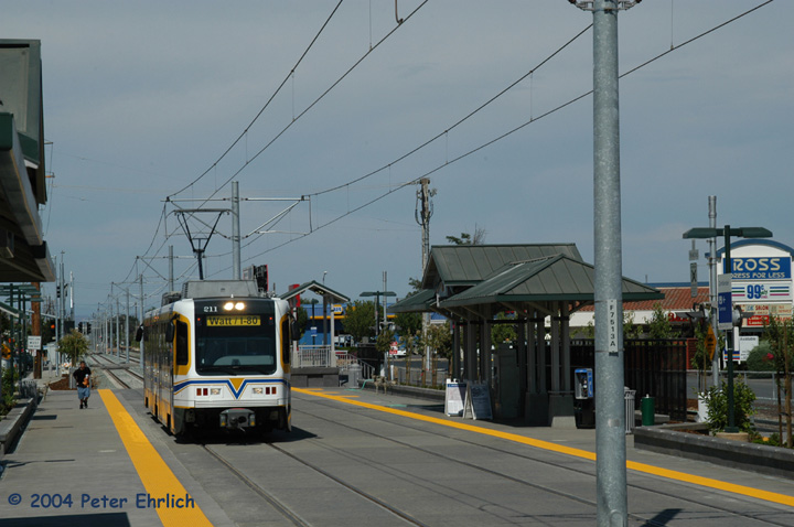 (123k, 720x478)<br><b>Country:</b> United States<br><b>City:</b> Sacramento, CA<br><b>System:</b> SACRT Light Rail<br><b>Location:</b> Zinfandel <br><b>Car:</b> Sacramento CAF LRV  211 <br><b>Photo by:</b> Peter Ehrlich<br><b>Date:</b> 6/27/2004<br><b>Viewed (this week/total):</b> 0 / 1033